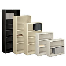 HON Brigade Steel Bookcase 2 Shelves