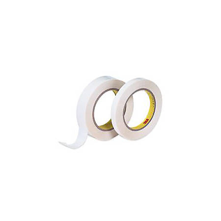 """3M® 665 Double Sided Film Tape (Repositionable), 1"""" x 72 Yd., Clear, Case Of 6"""