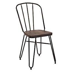 Office Star Charleston Folding Chairs Black