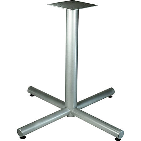 """Lorell Hospitality Collection X-Leg Table Base - X-shaped Base - 30"""" Height x 36"""" Width x 36"""" Depth - Assembly Required"""