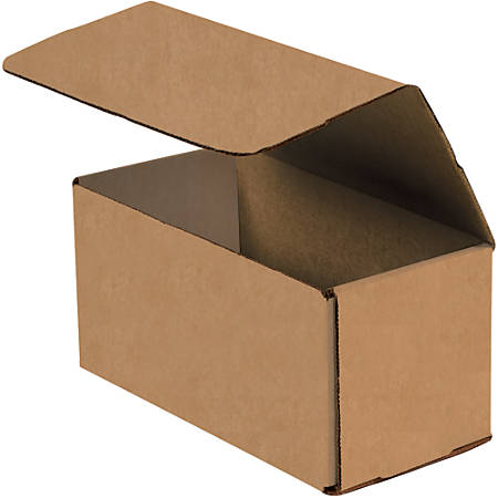 """Office Depot® Brand Corrugated Mailers, 10"""" x 5"""" x 5"""", Kraft, Pack Of 50"""