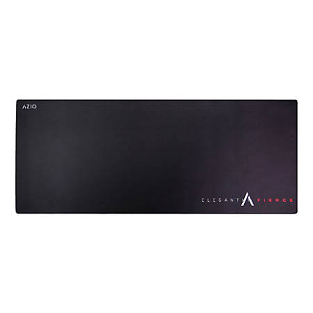 """Azio GMP-XXL Extended Gaming Mouse Pad, 14""""H x 34""""W x 3/16""""D, Black, MP-AZIOEF-L01"""