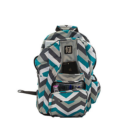 ful Dash School Backpack, Teal