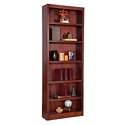 Concepts In Wood Bookcase, 6 Shelves, Cherry