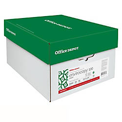 Office Depot Brand EnviroCopy FSC Certified