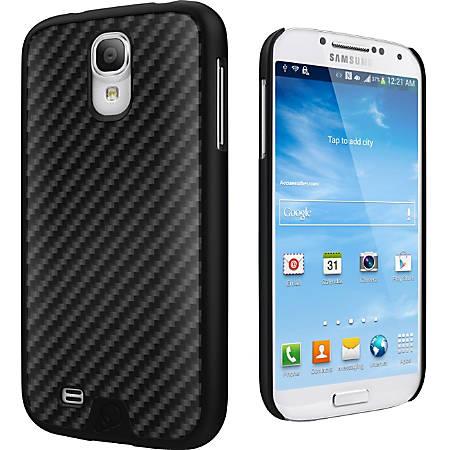Cygnett Black Carbon Fibre UrbanShield Carbon Fibre Galaxy S4 - For Smartphone - Carbon Fiber - Black - Brushed - Aluminum