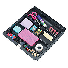 3M Desk Drawer Organizer Black