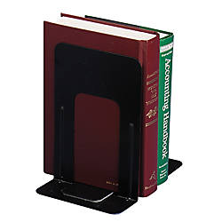 OIC Standard Metal Bookends Non Skid