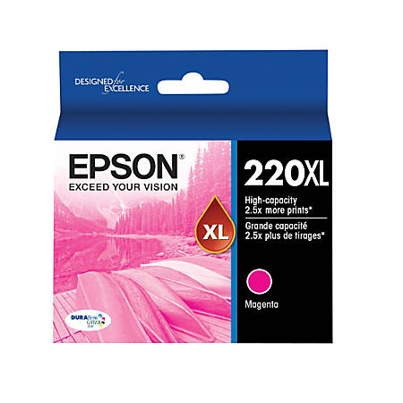 Epson® DuraBrite® T220XL320-S High-Yield Magenta Ink Cartridge