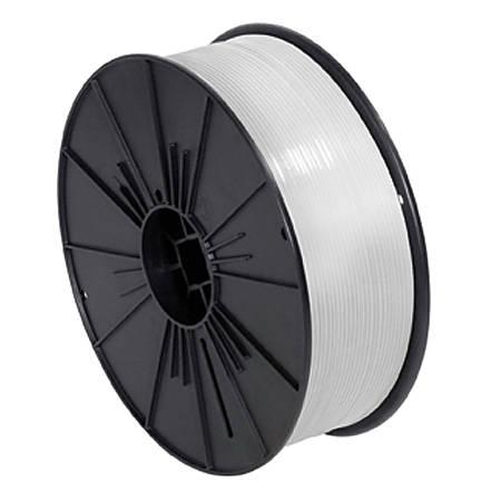 "Partners Brand Plastic Twist Tie Spool, 5/32"" x 7,000', White"