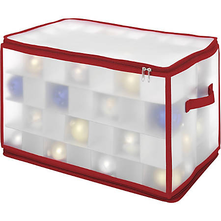 Whitmor Storage Case - Clear - For Ornaments