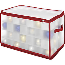 Whitmor Storage Case Clear For Ornaments