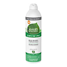 Seventh Generation Disinfectant Cleaner Spray 011