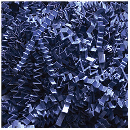 Partners Brand Navy Blue Crinkle PaPer, 10 lbs Per Case