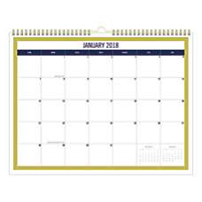Office Depot Brand Monthly Wall Calendar