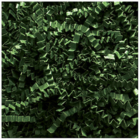 Partners Brand Forest Green Crinkle PaPer, 10 lbs Per Case