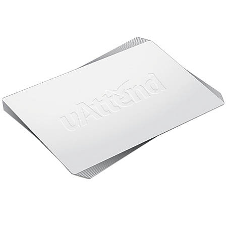 uAttend Time Clock RFID Cards, Pack of 25