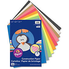 Rainbow Super Value Construction Paper 12
