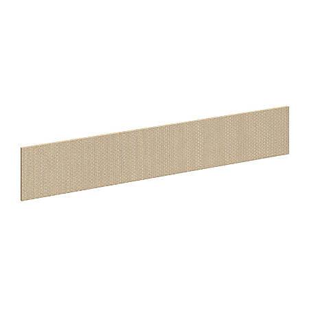"Bush Business Furniture Components Elite Privacy Return Bridge Tack Board, 48""W, Lyric Sundew Fabric, Premium Installation"