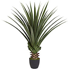 Nearly Natural 4H Plastic Spiked Agave