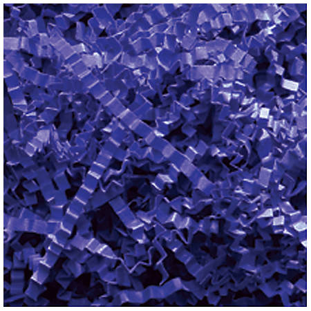 Partners Brand Royal Blue Crinkle PaPer, 10 lbs Per Case