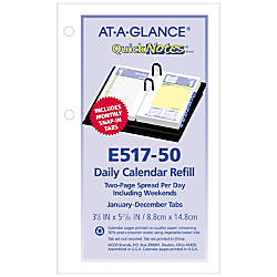 AT A GLANCE QuickNotes Daily Loose