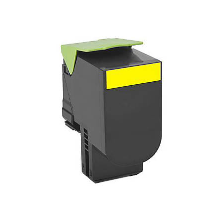 Lexmark™ Unison 800H4 High-Yield Yellow Toner Cartridge (80C0H40)
