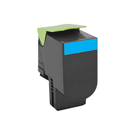 Lexmark™ 800H2 High-Yield Return-Program Cyan Toner Cartridge