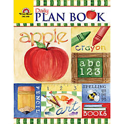 Evan Moor Daily Plan Book School