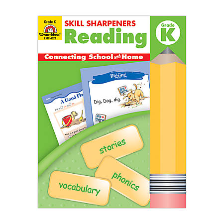 Evan-Moor® Skill Sharpeners Reading, Grade K