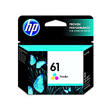 HP 61 Original Ink Cartridge Tri