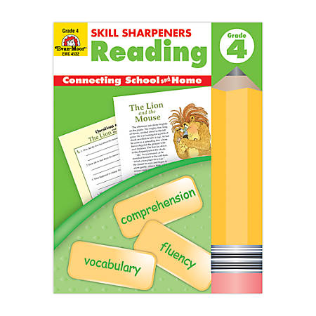 Evan-Moor® Skill Sharpeners Reading, Grade 4
