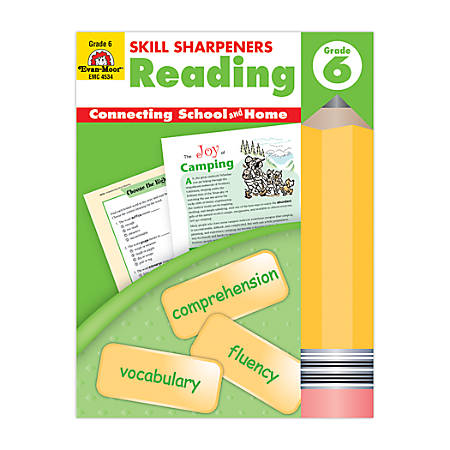 Evan-Moor® Skill Sharpeners Reading, Grade 6