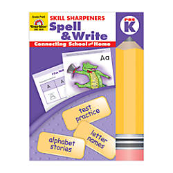 Evan Moor Skill Sharpeners Spell Write