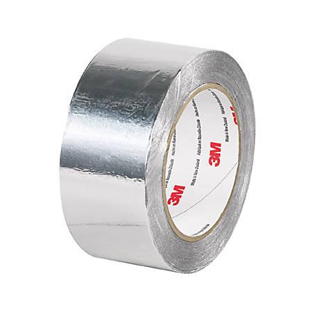 """3M™ 425 Aluminum Foil Tape, 2"""" x 60 Yd., Silver"""