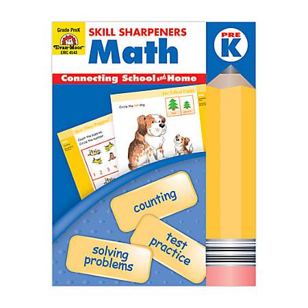 Evan-Moor® Skill Sharpeners Math, Grade PreK