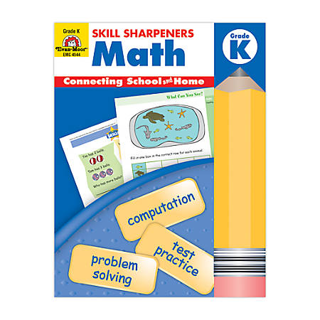 Evan-Moor® Skill Sharpeners Math, Grade K