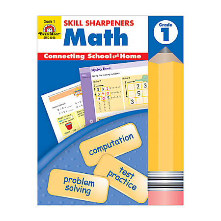 Evan-Moor® Skill Sharpeners Math, Grade 1