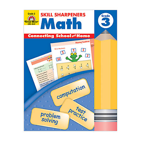 Evan-Moor® Skill Sharpeners Math, Grade 3