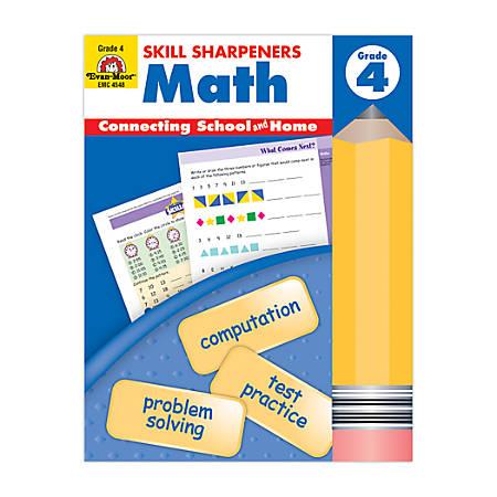 Evan-Moor® Skill Sharpeners Math, Grade 4