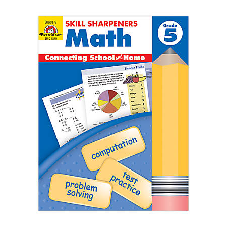 Evan-Moor® Skill Sharpeners Math, Grade 5