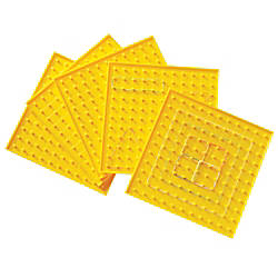 Learning Resources Geoboards Yellow Pre K