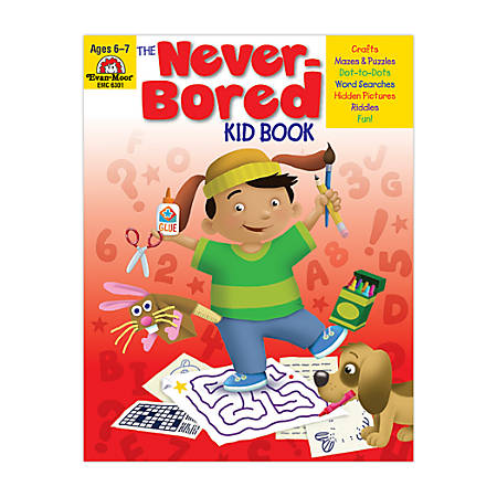 Evan-Moor® Never-Bored Kid Book, Ages 6-7