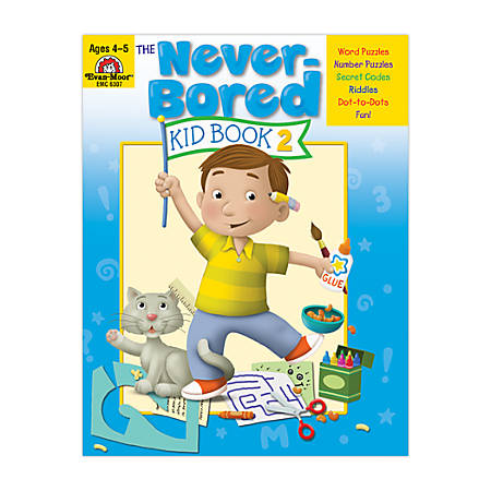Evan-Moor® Never Bored Kid Book 2, Ages 4-5
