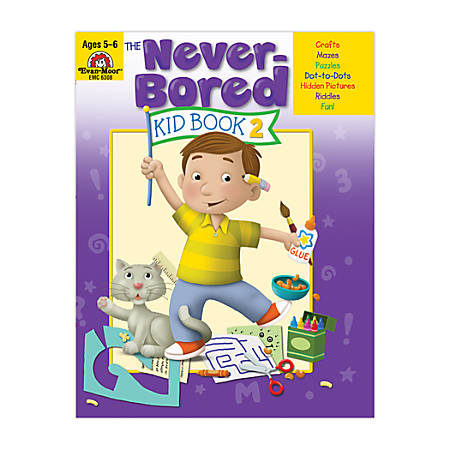 Evan-Moor® Never Bored Kid Book 2, Ages 5-6