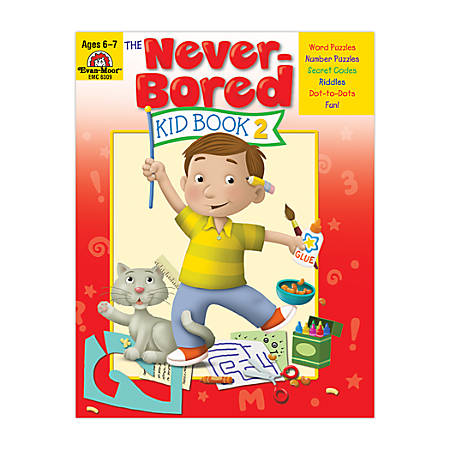 Evan-Moor® Never Bored Kid Book 2, Ages 6-7