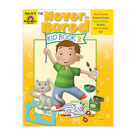 Evan-Moor® Never Bored Kid Book 2, Ages 8-9
