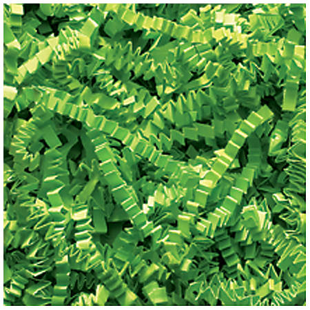 Partners Brand Lime Crinkle PaPer, 10 lbs Per Case