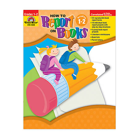 Evan-Moor® How To Report On Books, Grades 1-2