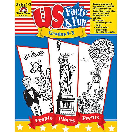 Evan-Moor® U S  Facts & Fun, Grades 1-3 Item # 524250